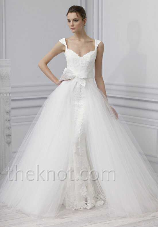 Monique Lhuillier Embrace Wedding Dress photo