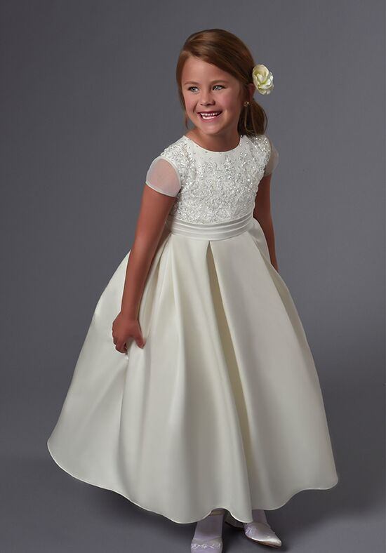 Cupids by Mary's F561 Ivory Flower Girl Dress