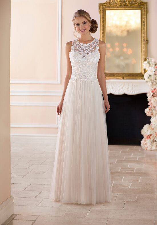 Stella York 6284 A-Line Wedding Dress