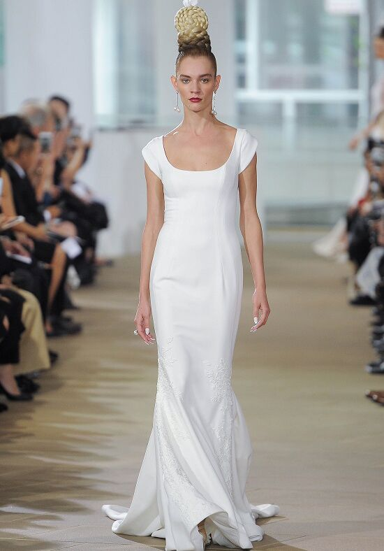Ines Di Santo Carter Sheath Wedding Dress