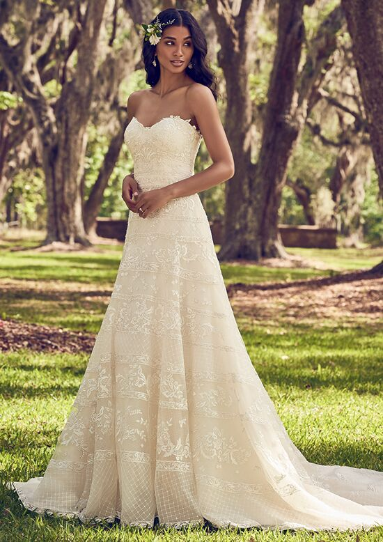 Maggie Sottero Renee A-Line Wedding Dress