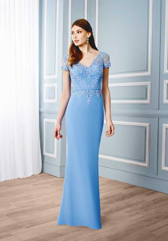 Val Stefani Celebrations MB7540 Blue Mother Of The Bride Dress