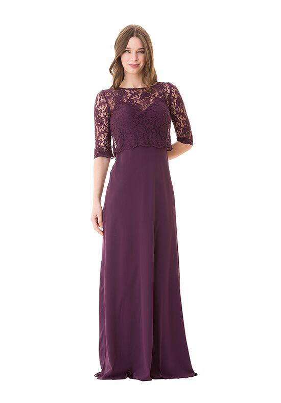 Bari Jay Bridesmaids 1675 Illusion Bridesmaid Dress