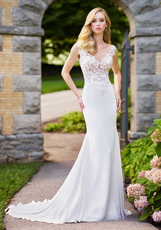 Enchanting by Mon Cheri 118138 Mermaid Wedding Dress