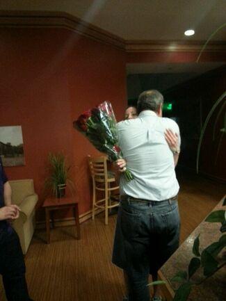 Aaron and anthony wedding