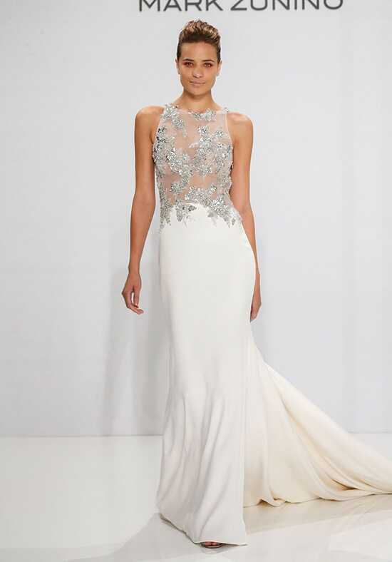 Mark Zunino for Kleinfeld 206 Sheath Wedding Dress