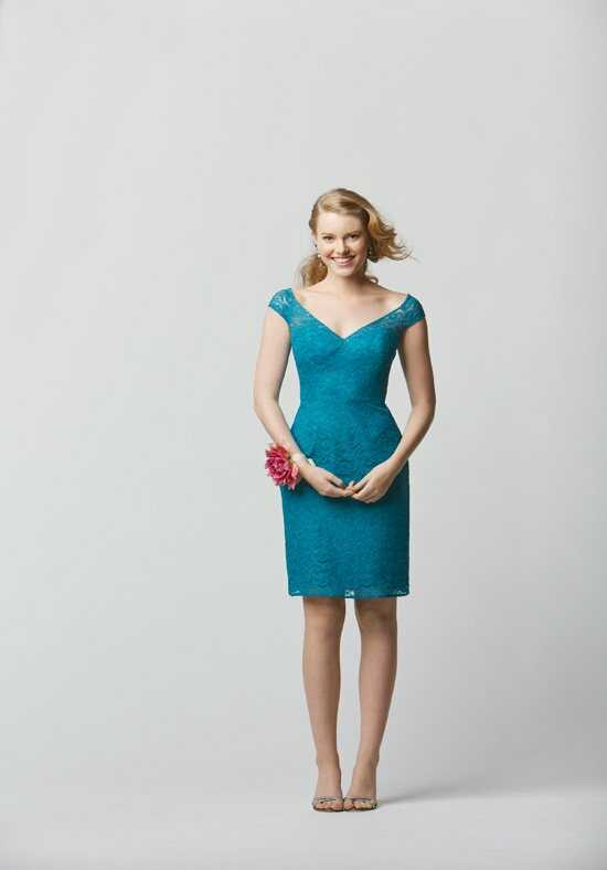 Wtoo Maids 697 V-Neck Bridesmaid Dress