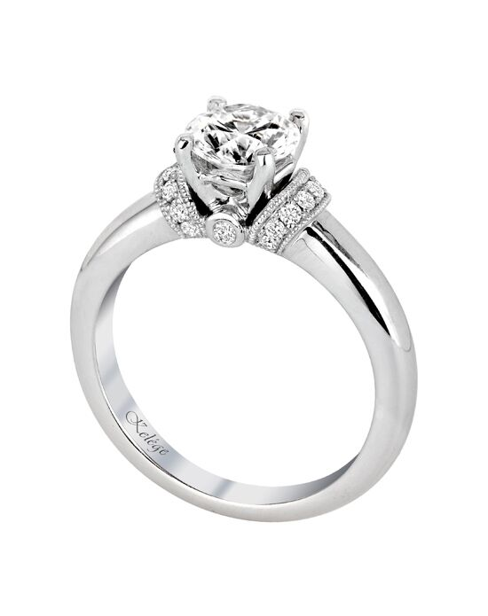 Jack Kelege Classic Round Cut Engagement Ring
