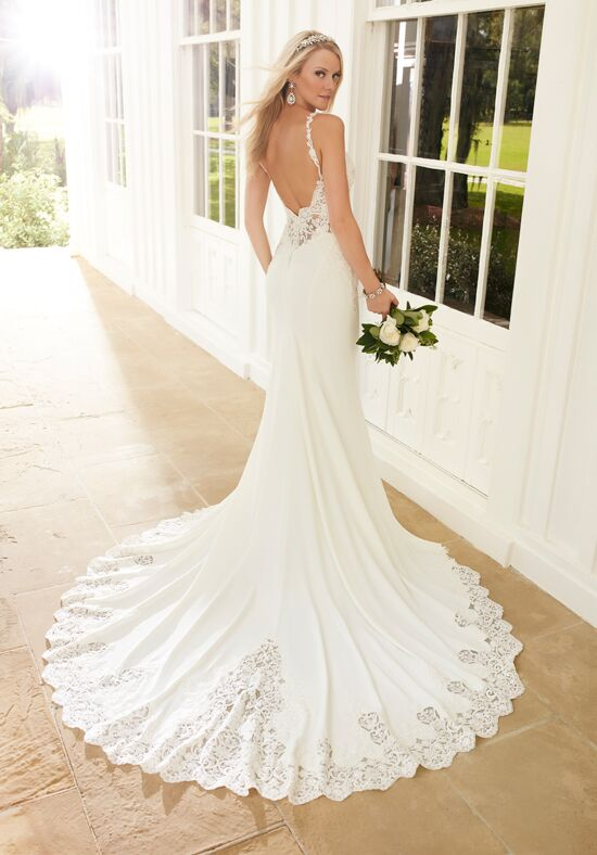 Martina Liana 753 Sheath Wedding Dress