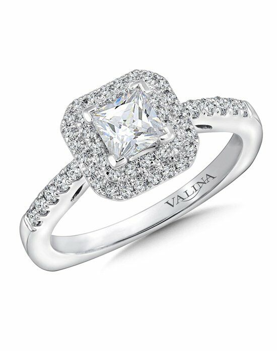 Valina Princess Cut Engagement Ring