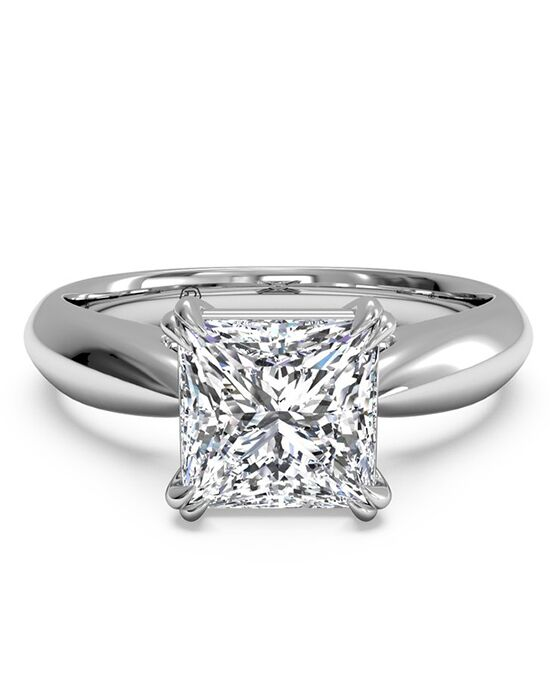 Ritani Classic Princess Cut Engagement Ring
