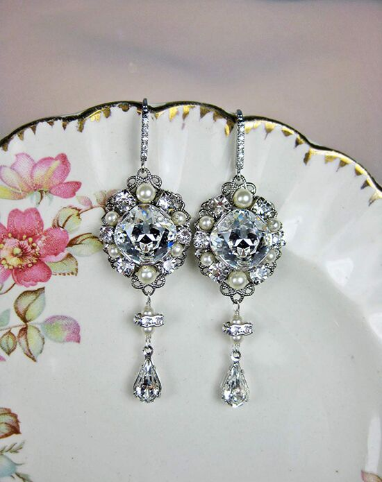 Everything Angelic Chase Earrings - e349 Wedding Earring photo