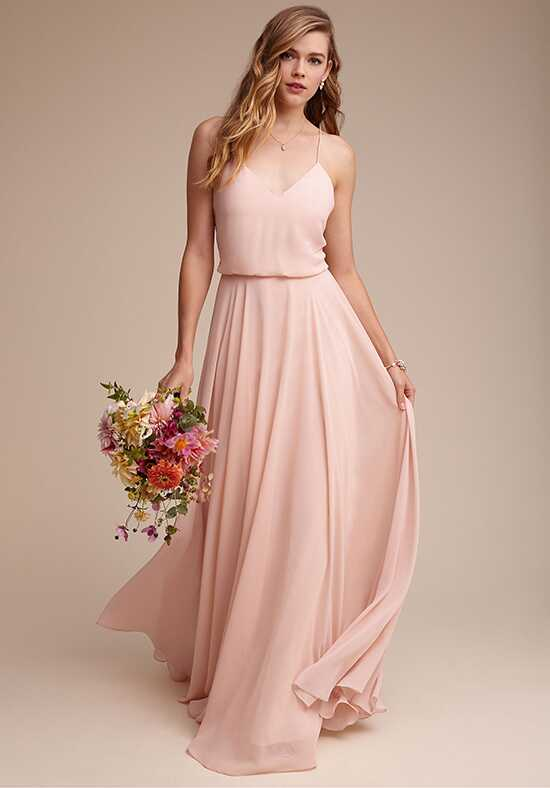 BHLDN (Bridesmaids) Inesse Dress V-Neck Bridesmaid Dress
