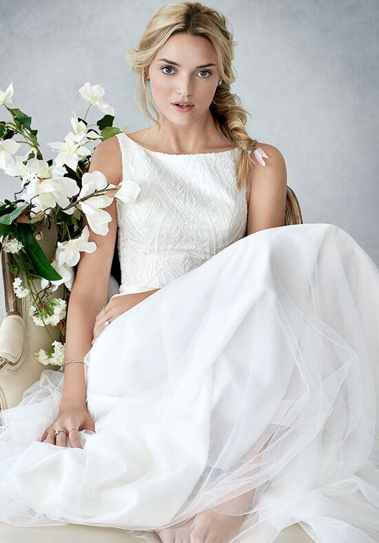Kenneth Winston: Ella Rosa Collection BE438 A-Line Wedding Dress