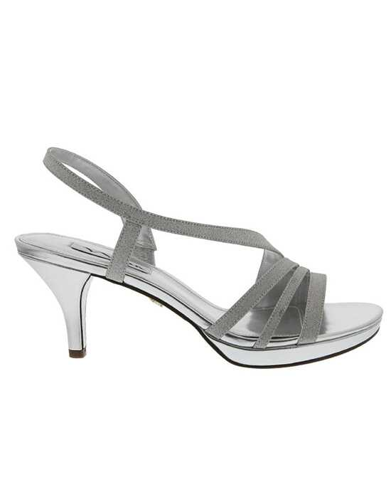 Nina Bridal Wedding Accessories Neely_Silver Silver Shoe