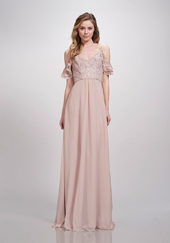 THEIA Bridesmaids Kayra Off the Shoulder Bridesmaid Dress