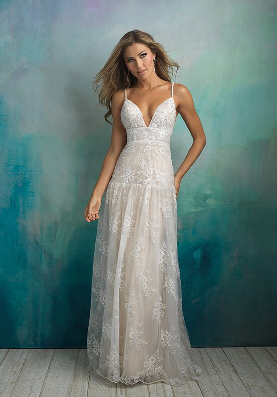 Allure Bridals 9526 A-Line Wedding Dress