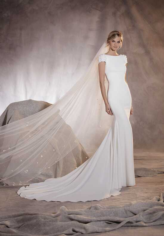 PRONOVIAS AGUA Wedding Dress photo