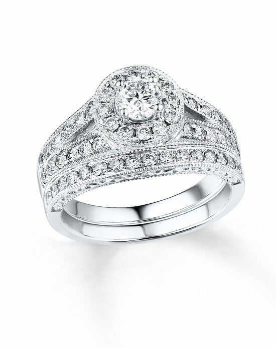 Kay Jewelers Round Cut Engagement Ring