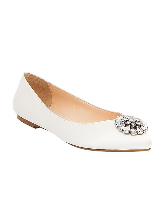 Blue by Betsey Johnson SB-AVA Gold, Ivory, Silver Shoe