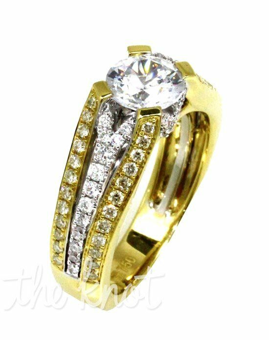 Frederic Sage RM4163-YW White Gold, Gold Wedding Ring