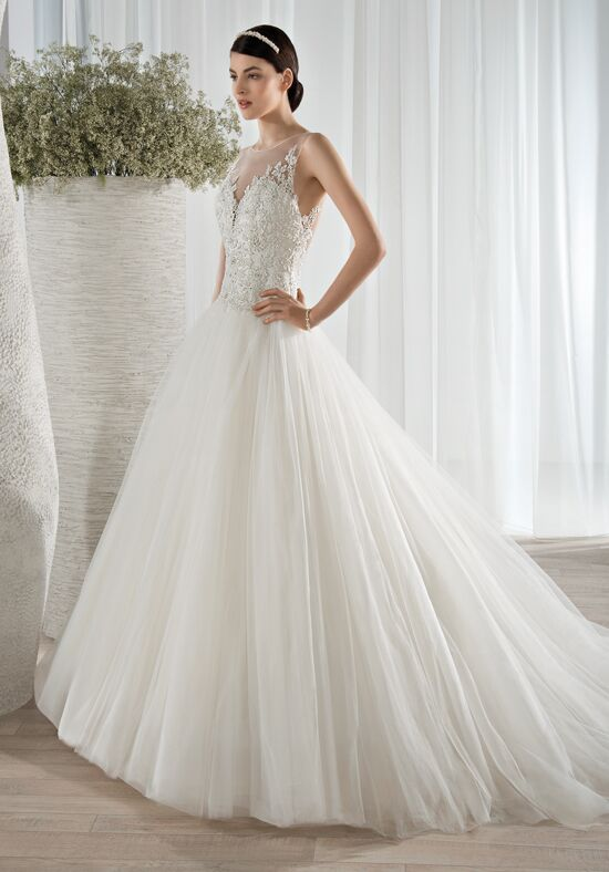 Demetrios 594 Ball Gown Wedding Dress