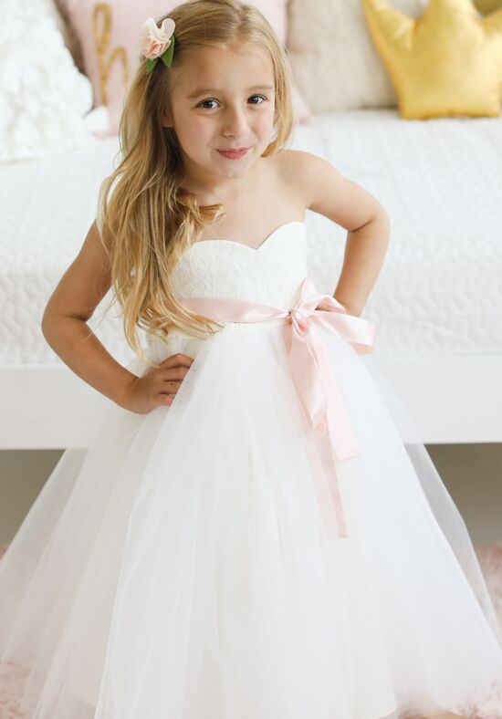 FATTIEPIE big day Ivory Flower Girl Dress