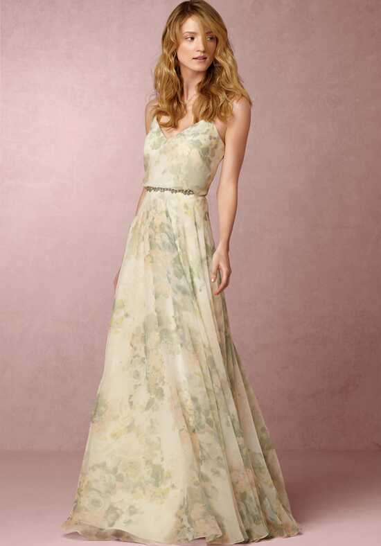 BHLDN (Bridesmaids) Inesse Dress - Ivory Sage Bridesmaid Dress photo