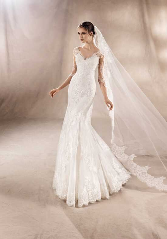 WHITE ONE YUANA Mermaid Wedding Dress
