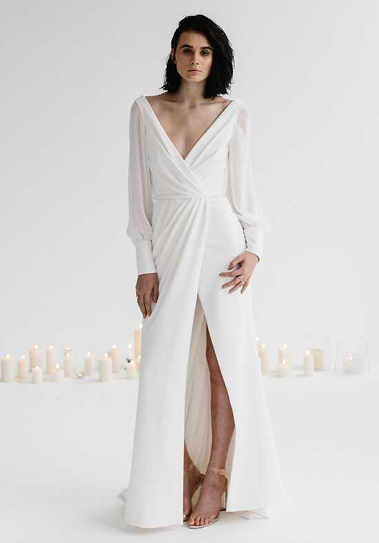 KAREN WILLIS HOLMES Nikki Sheath Wedding Dress