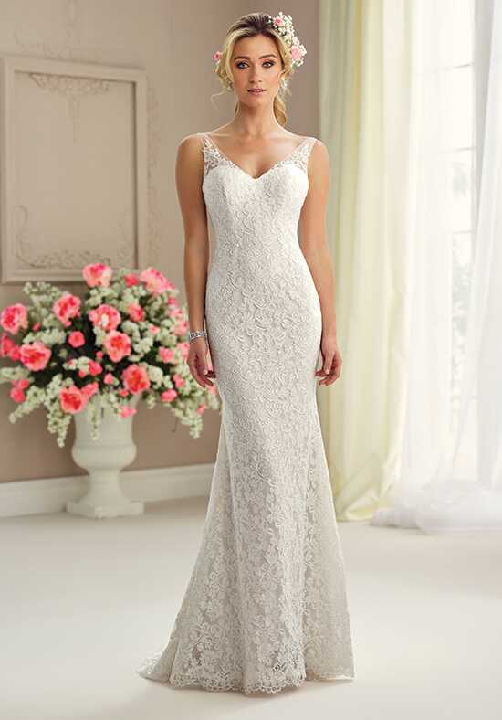 Enchanting by Mon Cheri 217102 Sheath Wedding Dress