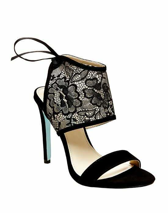 Blue by Betsey Johnson SB-SLOAN - BLACK LACE Black Shoe