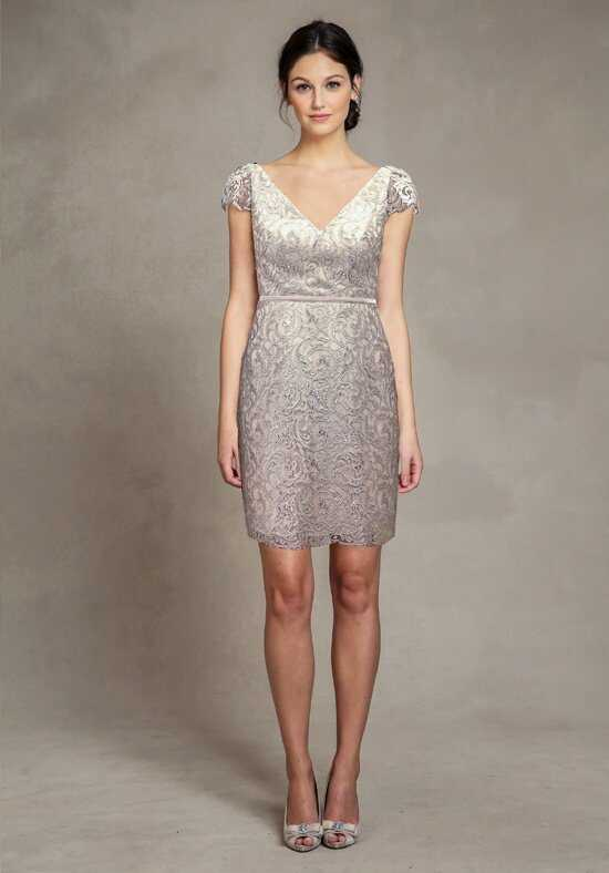 Jenny Yoo Collection (Maids) Bridgitte Metallic Swirl 1567S Bridesmaid Dress photo