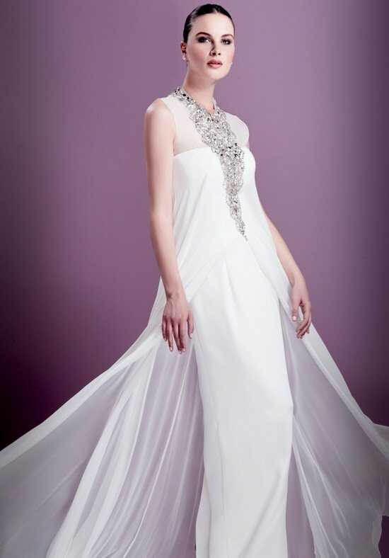 Stephen Yearick KSY66 Sheath Wedding Dress