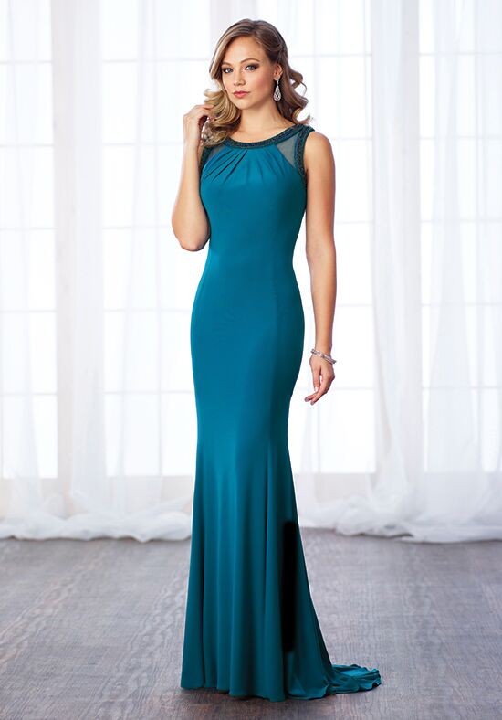 Cameron Blake 217634 Blue Mother Of The Bride Dress