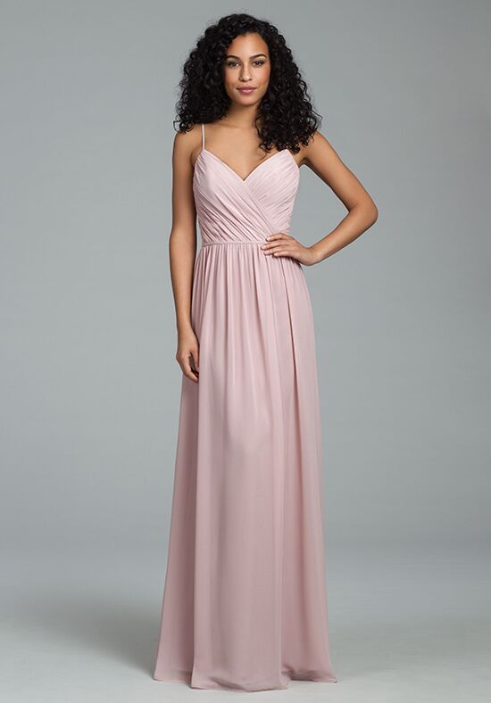 Hayley Paige Occasions 5806 V-Neck Bridesmaid Dress