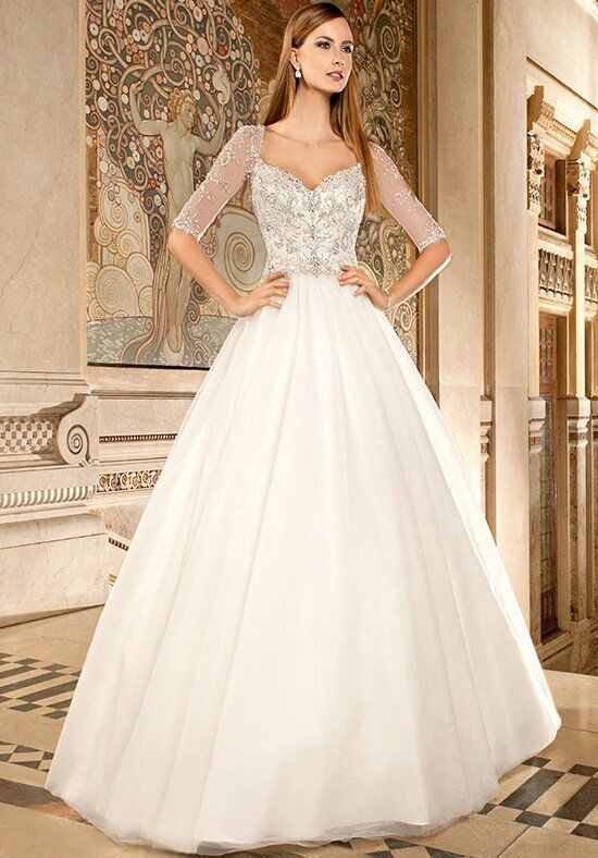 Demetrios 565 Ball Gown Wedding Dress