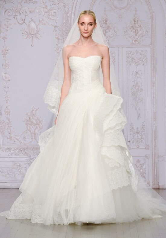 Monique Lhuillier Whisper Ball Gown Wedding Dress