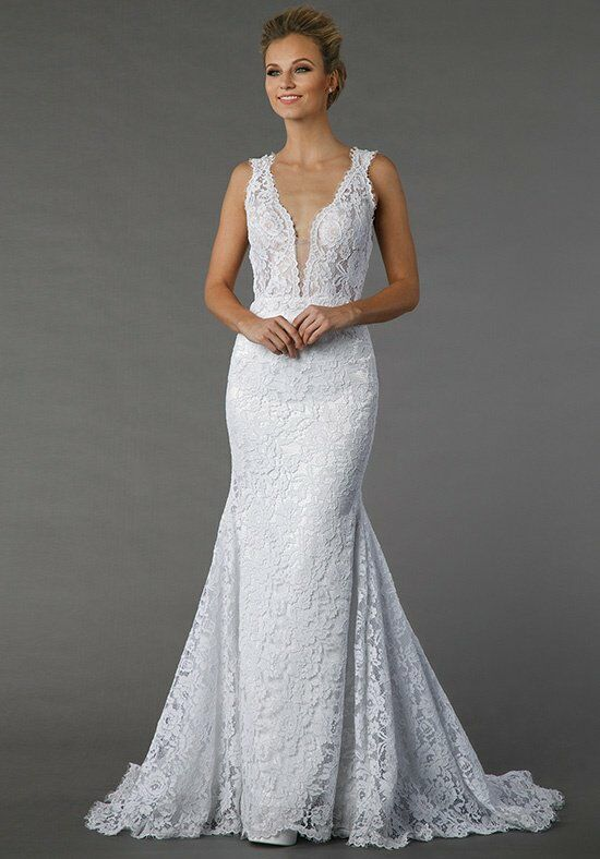 Pnina tornai for kleinfeld 4372 wedding dress the knot for Pnina tornai wedding dresses prices