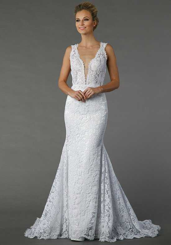 Pnina Tornai for Kleinfeld 4372 Sheath Wedding Dress