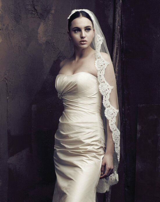 Paloma Blanca Veils Collection V408F Veil