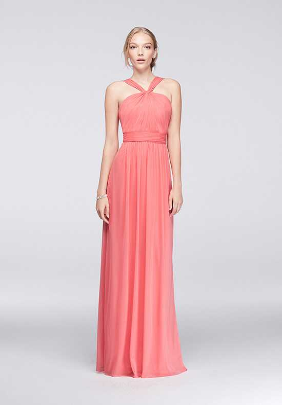 David's Bridal Collection David's Bridal Style W11173 Halter Bridesmaid Dress