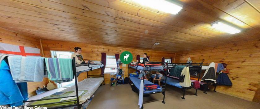 Camp Cody bunkhouse