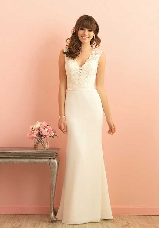 Allure Romance 2857 Sheath Wedding Dress
