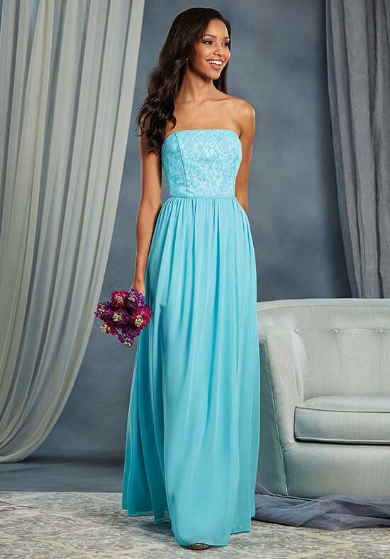 Alfred Angelo Signature Bridesmaids Collection 7378L Strapless Bridesmaid Dress
