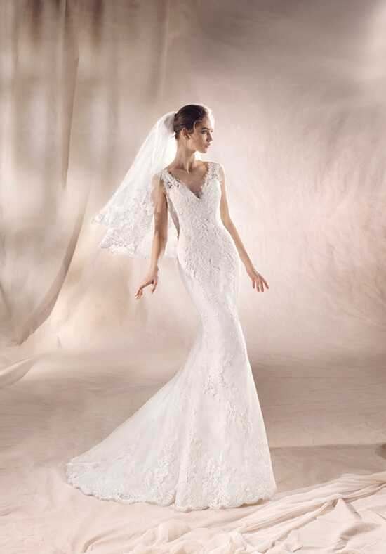 WHITE ONE SAEKO Mermaid Wedding Dress