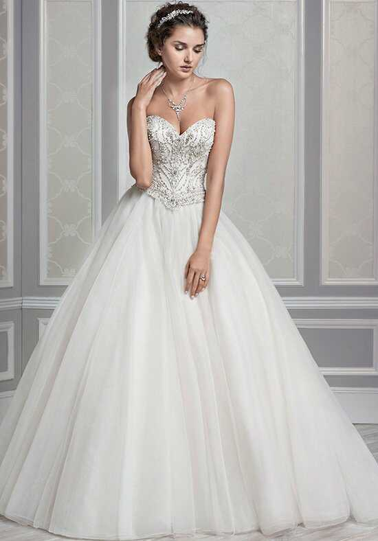 Kenneth Winston 1603 Ball Gown Wedding Dress