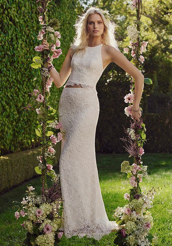 Casablanca Bridal 2241 Heather Sheath Wedding Dress