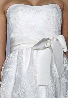 Amsale Presents Little White Dress L106 Ally A-Line Wedding Dress
