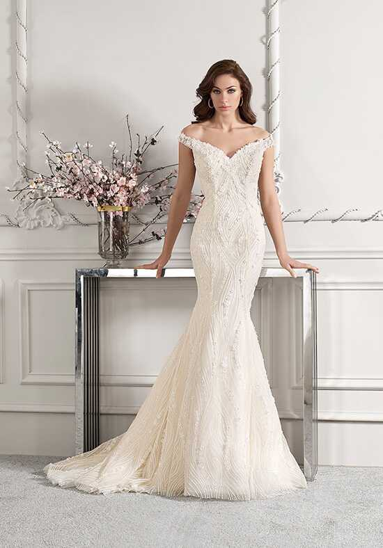 Demetrios 868 Mermaid Wedding Dress